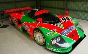 1/10 Mazda 787B 787 B 1991 Le Mans RC Body + Decal for Tamiya / HPI Pan Chassis