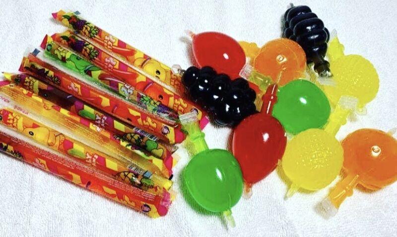 Tik Tok Jelly Fruit Candy Jelly Sticks Dely Gely