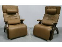 The Perfect Chair Recliner 2 x Zero gravity electric reclining chairs 231220