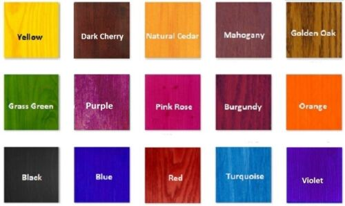 Alcohol Based NGR Wood Stain Dye for DIY Woodworking and Decoupage 60ml 2 fl.oz