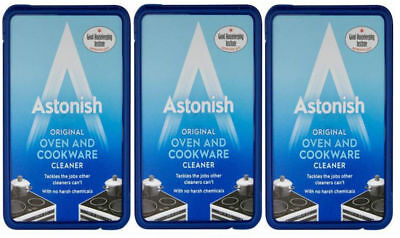 Pack of 3 x Astonish Oven and Cookware Cleaner Paste 150g The Original and