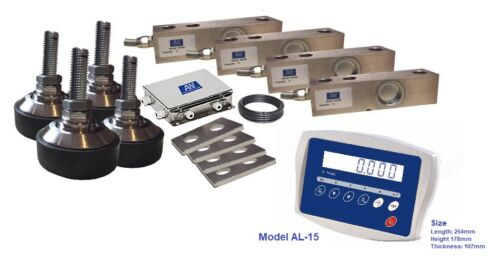 Livestock  Scale Kit , Capacity 600*0.2kg with ABS Plastic Indicator