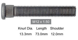 HOLDEN-COMMODORE-LONG-FRONT-WHEEL-STUD-73mm-LONG-VR-VS-07-93-09-97-12mm-x-1-5mm