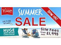 Static winkups sale £58 per week to own