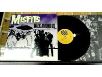 Misfits ‎– Walk Among Us, NM, released on Ruby Records ‎in 1998, Punk Vinyl Record