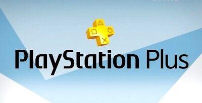 No Code PS Plus 1 Month PlayStation Plus PS4 PS3 Vita 2 14-Day Membership