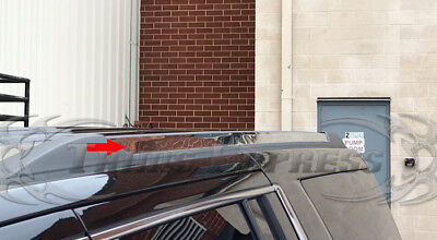 2015-2019 Chevy Tahoe/GMC Yukon Chrome Roof Rack Cover Molding 2Pc Trim Flat