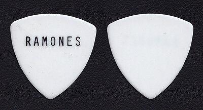 Ramones Johnny Ramone Large Print Guitar Pick - 1980s Tours