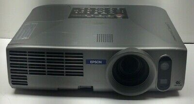 EPSON EMP-830 PORTABLE LCD PROJECTOR - Tested and Working 479 Lamp Hours