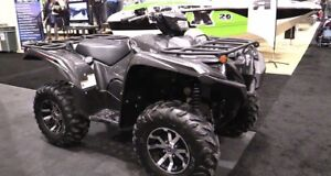 2016+ yamaha grizzly plastics fenders