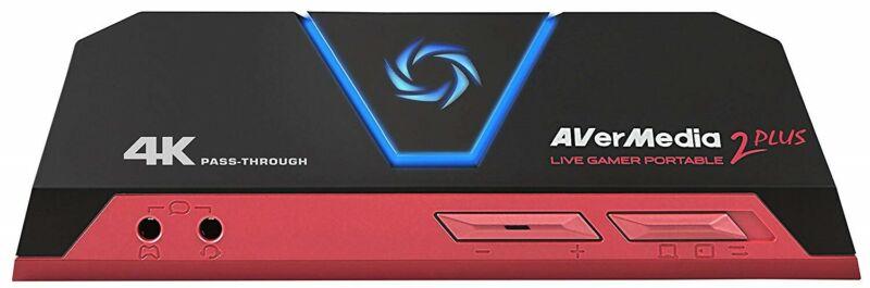 AVerMedia Live Gamer Portable 2 Plus, 4K Pass-Through, 4K Full HD 1080p60