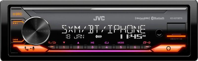 JVC - In-Dash Digital Media Receiver - Built-in Bluetooth - Satellite Radio-r...