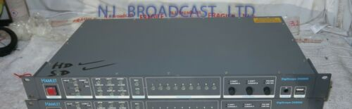 Hamlet digiscope ds9000 HDSDI / SDI waveform vectorscope rasterizer