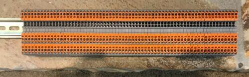 66 Pieces Phoenix Contact Qtc 1,5 -twin 3205048 through Terminal