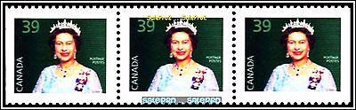 3x CANADA 1990 CANADIAN QUEEN ELIZABETH MINT FV FACE $1.17 MNH TRIPLE STAMP LOT