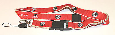 Block-House Steak-Restaurant Schlüsselband Lanyard NEU (Z19)