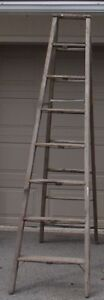 8'  Wooden Painters Ladder