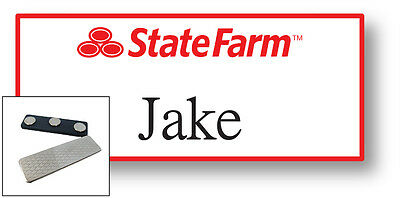 1 Jake From State Farm Name Badge Halloween Costume Prop Magnet Free Shipping