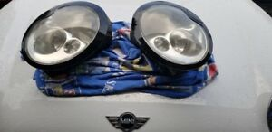 2005-2008 Mini Cooper OEM Headlights Xenon
