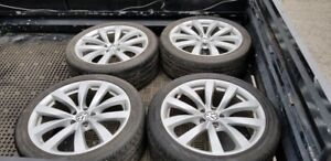 VW Passat Wheels with Continentals