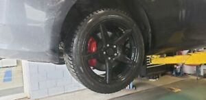 """18"""" rims and winter tires"""