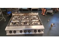 Falcon Dominator G3101 Natural Gas 6 Burner Cooker Oven Range