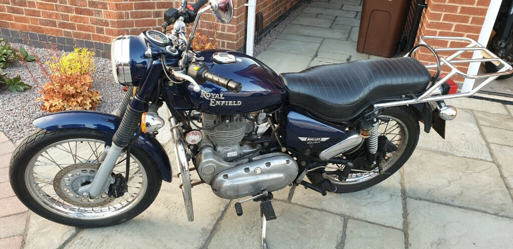 Royal Enfield Bullet 500 Midnight Blue Classic 2008 In
