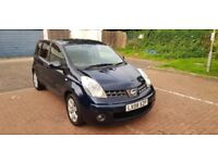 2008 Nissan Note 1.6 16v Tekna 5dr Automatic @07445775115 New+Breaks+Fitted
