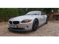 BMW Z4 2.0I Silver Full Leather M sport Alloys