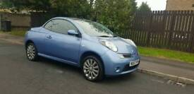2007 57 Nissan Micra C+C 1.4 Visia Convertiable 2 Owners F/S/H