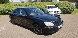 2004 Mercedes S320 Cdi diesel,AUTOMATIC, FULL LEATHER SEATS. DVD TV SAT NAV, fully loaded