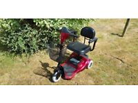 Rio 3 light mobility scooter, red