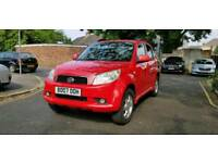 2007 Daihatsu Terios 1.4 Petrol Automatic 5 Door 4x4 Low Insurance/Tax