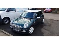 2002 Mini Cooper, 1.6ltr passed MOT and just been through service, new tyres, shift knob and more
