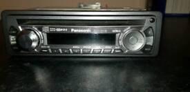 Panasonic car CD player
