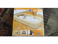 Inflatable kids Travel Bed Set with Pump