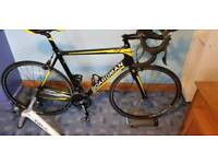 Boardman Team Carbon Bike And Tracx Turbo Trainer