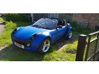 Mercedes Smart Roadster Convertible Automatic 0.7 Sports with Private Plate