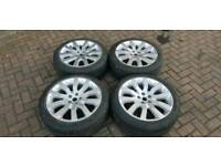 GENUINE LAND ROVER RANGE ROVER 20 INCH ALLOY WHEELS SUPERCHARGERS 5X120 L322 VW TRANSPORTER T5 T6