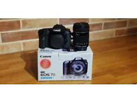 CANON 7D 18MP DSLR with Canon EFS 18-135 lens and accessories