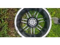 Audi S4 Alloys no tyres 5x112
