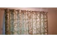 NEXT curtains green