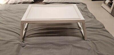 Ikea KLIPSK Tablett,Weiß Klapptablett Betttablett Frühstück im Bett 002.588.82 segunda mano  Embacar hacia Spain