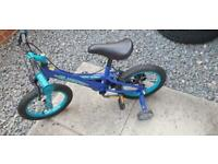 14 inches Kids silver fox bike for sale