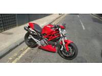 Ducati Monster 696+ Belly Pan and Termis