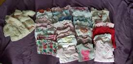 Huge baby girl 0-3 clothing bundle