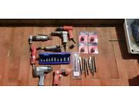 Variety of air compressing tools