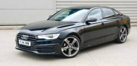 2014 14 Audi A6 2.0 TDI Ultra 190 Black Edition, FSH, S-Tronic, £30 Tax,