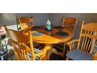 SOLD PENDING COLLECTION Table and 6 chairs