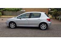 2007 Peugeot 307 1.6 16v S 5dr Manual @07445775115